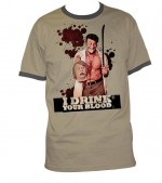 T-Shirt I Drink Your Blood (tirage limité à 500 ex)