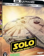 Solo : a Star Wars story [steelbook 4K + 2D + bonus] EPUISE/OUT OF PRINT