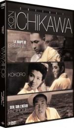 Kon Ichikawa - Coffret - Kokoro, La harpe de Birmanie, Seul sur l'océan Pacifique EPUISE/OUT OF PRINT